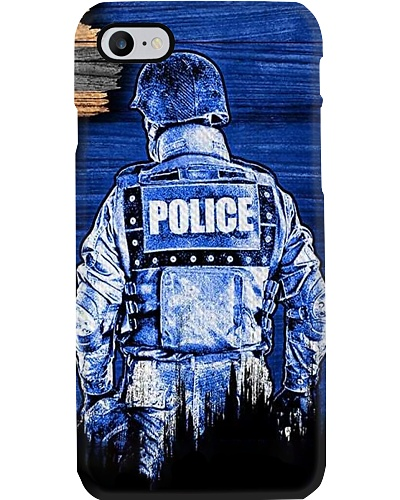 Police phone case H26M8