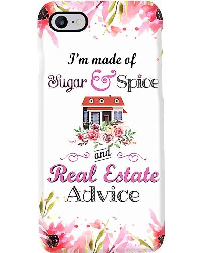 Real Estate Advice 1 Phone Case YHA1