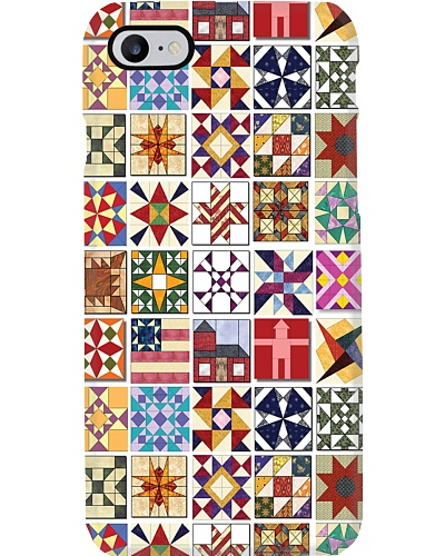 Quilt Blocks Phone Case N31D1