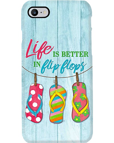 Life Is Better On Flip Flops Phone Case YHN2