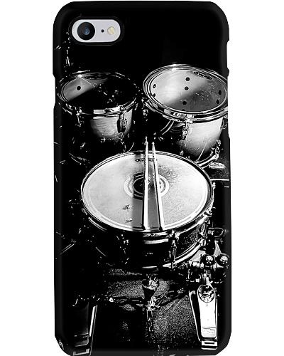 Drum Black n White Phone Case QE25