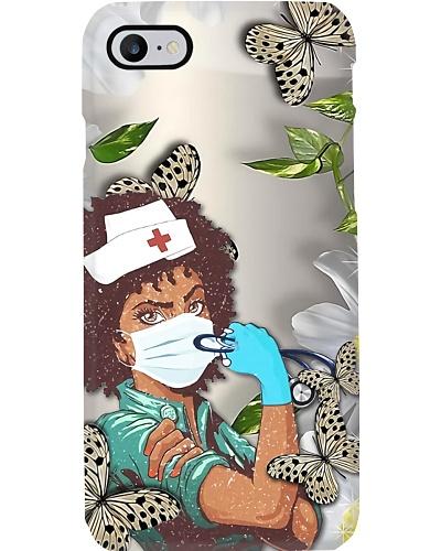 Proud Black Nurse Phone Case Q22A2