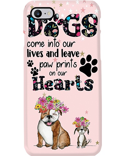 Dogs Come Into Our Lives Phone Case N31D1