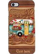 Happy Camper Personalized Phone Case Q22A2 Phone Case i-phone-8-case