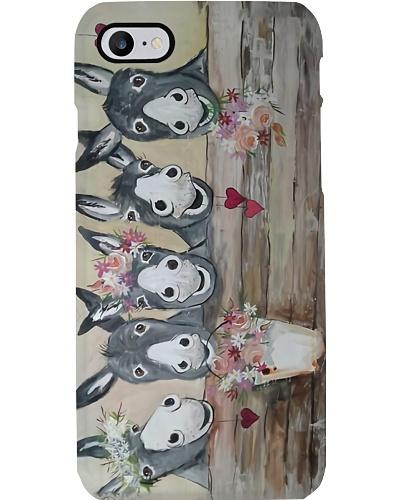 Donkey Herd n Flowers Case QE25