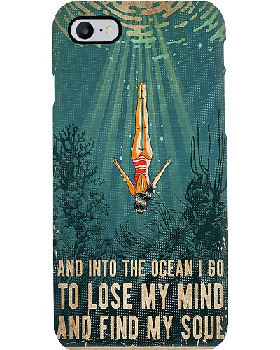 Find My Soul Swimming Phone Case YHN2