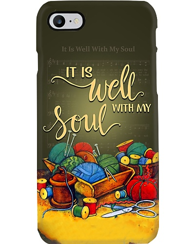 Well With My Soul Sewing Phone Case YPM0
