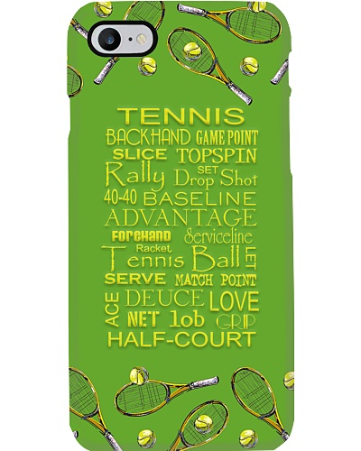 Tennis Terms Phone Case T19A9
