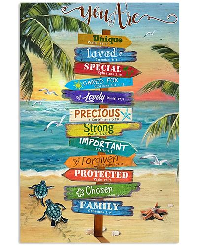At Beach You are Vertical Poster YTA8