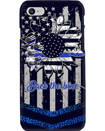 Back The Blue Cheetah Phone Case NO96