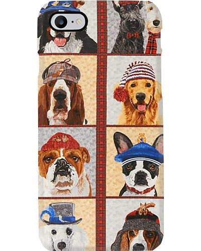 Dogs With Hats Phone Case H25P3