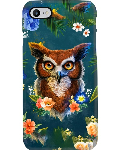 Floral Owl Phone Case YHL3