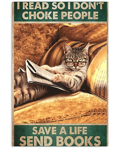 Cat Save Life Vertical Poster YSC6