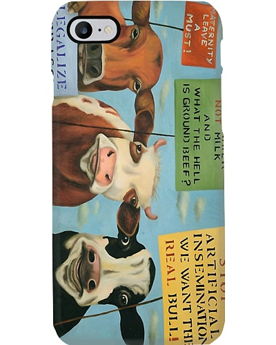 Cow Advocate Phone Case Q09T2