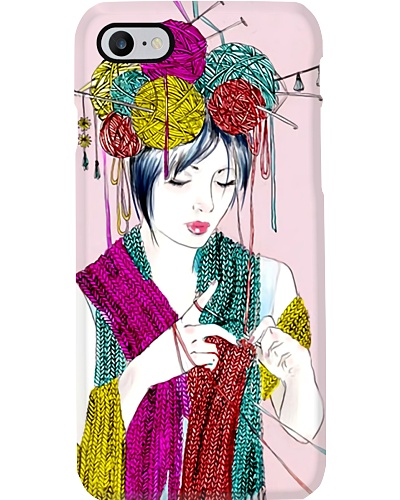 Knitting Lady Phone Case YHT7