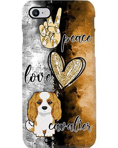 Peace Love Cavalier Phone Case YCT8