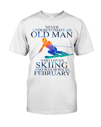 SKIING OLD MAN 02