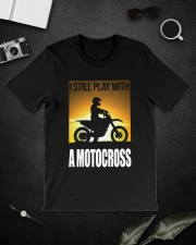 I STILL PLAY WITH MOTOCROSS Classic T-Shirt lifestyle-mens-crewneck-front-16