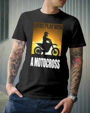 I STILL PLAY WITH MOTOCROSS Classic T-Shirt lifestyle-mens-crewneck-front-6