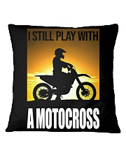 I STILL PLAY WITH MOTOCROSS Square Pillowcase thumbnail