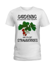 LIMITED EDITION - STRAWBERRY Ladies T-Shirt front