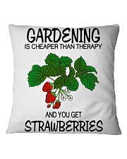LIMITED EDITION - STRAWBERRY Square Pillowcase thumbnail