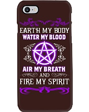 EARTH - WATER - AIR - FIRE Phone Case tile