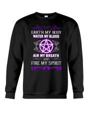 EARTH - WATER - AIR - FIRE Crewneck Sweatshirt thumbnail