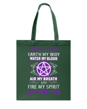 EARTH - WATER - AIR - FIRE Tote Bag thumbnail