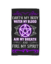 EARTH - WATER - AIR - FIRE Hand Towel tile