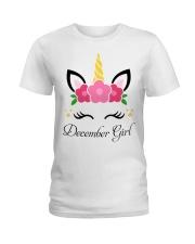 December-Girl Ladies T-Shirt front