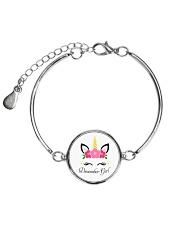 December-Girl Metallic Circle Bracelet thumbnail