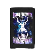 I STILL PLAY WITH A MAGIC WAND Hand Towel tile