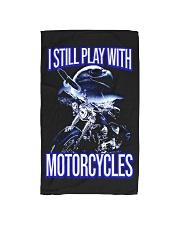 I STILL PLAY WITH - MOTORCYCLES Hand Towel thumbnail