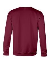 Schnauzer Heartbeat Crewneck Sweatshirt back