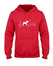 Schnauzer Heartbeat Hooded Sweatshirt thumbnail