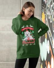 Westie Christmas Crewneck Sweatshirt apparel-crewneck-sweatshirt-lifestyle-front-14