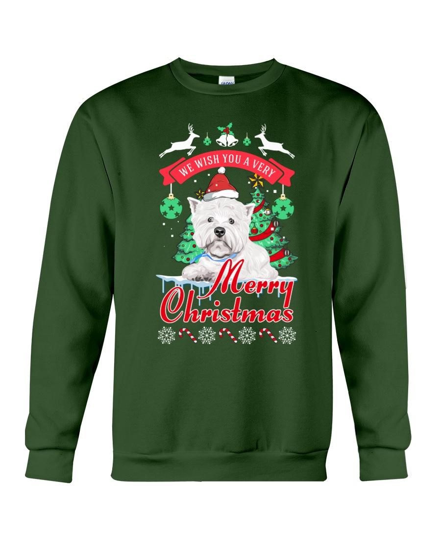Westie Christmas Crewneck Sweatshirt