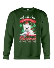 Westie Christmas Crewneck Sweatshirt front