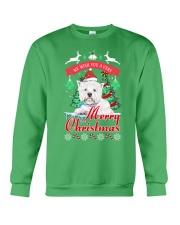 Westie Christmas Crewneck Sweatshirt tile