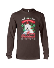 Westie Christmas Long Sleeve Tee thumbnail