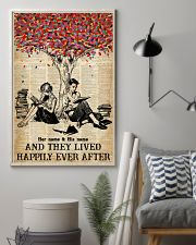 BOOK COUPLE - CUSTOM NAME 11x17 Poster lifestyle-poster-1