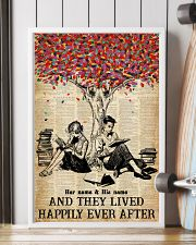 BOOK COUPLE - CUSTOM NAME 11x17 Poster lifestyle-poster-4