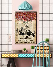 BOOK COUPLE - CUSTOM NAME 11x17 Poster lifestyle-poster-6