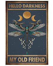 HELLO DARKNESS MY OLD FRIEND 11x17 Poster front
