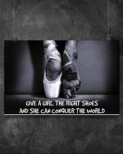 GIVES A GIRL THE RIGHT SHOES 17x11 Poster poster-landscape-17x11-lifestyle-12