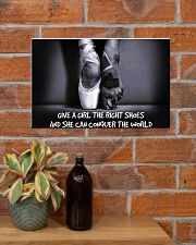 GIVES A GIRL THE RIGHT SHOES 17x11 Poster poster-landscape-17x11-lifestyle-23