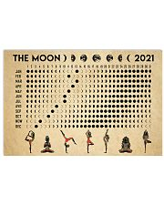 THE MOON 2021 17x11 Poster front