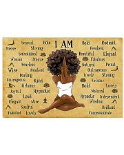 I AM  17x11 Poster front