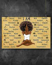 I AM  17x11 Poster poster-landscape-17x11-lifestyle-12